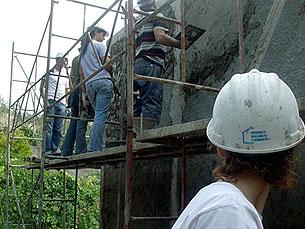 O objectivo é construir e reparar 50 casas por ano Daniela Espírito Santo