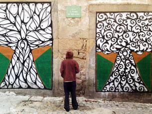 Hazul, o artista sem rosto Foto: Luís Octávio Costa
