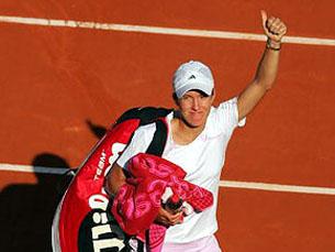 Henin é a actual número um mundial no ranking feminino Foto: WTA