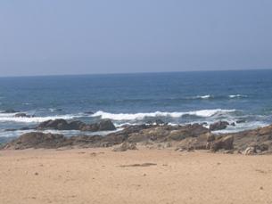 A praia do Homem do Leme pode vir a perder a Bandeira Azul no próximo ano Foto: João Queiroz/Arquivo JPN