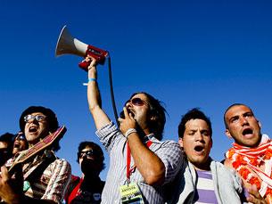 """O tema """"A luta é alegria"""", dos Homens da Luta, é o hino da """"Geração à Rasca"""" Foto: José Goulão/Flickr"""