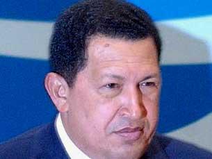 Hugo Chávez solidário com Evo Morales Foto: Marcello Casal Jr/ABr