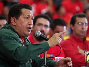 Chavez tenta dissuadir a Colômbia de invadir a Venezuela. Foto: Flickr