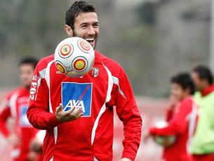 Hugo Viana substitui Carlos Martins no grupo do Euro2012 Foto: DR
