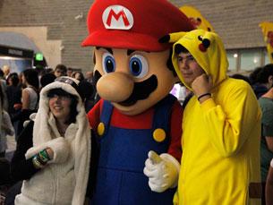 Personagens de videojogos, anime e manga rumaram a Gondomar durante dois dias Foto: Luís Peixoto