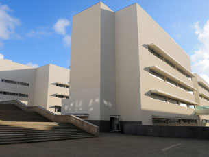 O novo complexo que acolhe o ICBAS e a Faculdade de Farmácia situa