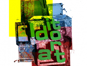 O Idiot Art expôe trabalhos tanto de artistas conhecidos como de alunos da ESAD Foto: DR