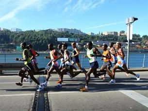 Maratona do Porto com 1200 participantes de 27 países Foto: Maratona do Porto