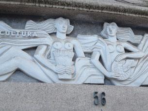 """O """"Sismógrafo"""" fica no número 56 da Praça dos Poveiros, no Porto Foto: Ricardo M. Alves"""