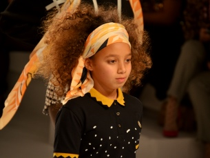 O segundo dia de Portugal Fashion ficou marcado por um momento folclórico no desfile de TM Collection by Teresa Martins Foto: Rita Salomé Esteves