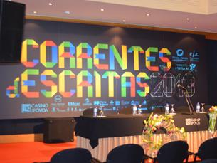 """O """"Correntes d'Escritas 2013"""" vai contar com sete meses de debate até sábado, dia 23. Foto: Eduardo Aranha"""