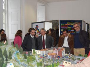 A sala das energias renováveis foi apresentada por Luís Miguel Bernardo Foto: João Nápoles