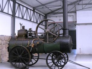 O espólio do futuro Museu da Indústria foi transferido para a zona industrial do Porto. Foto: DR