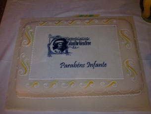 O aniversário do Infante D. Henrique foi comemorado na Casa do Infante a 4 de Março Foto: Tiago Oliveira