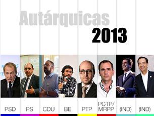 São oito os candidatos que disputam a Câmara do Porto Foto: JPN