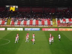 O Estádio do Mar é semanalmente palco de um turbilhão de emoções em Leixões Foto: Duarte Monteiro
