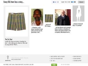 A aplicação permite conhecer as origens da roupa que tem vestida Foto: DR