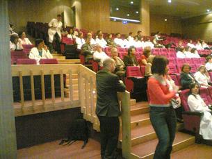 IPO reuniu médicos e doentes à volta do tema do cancro do intestino Foto: Joana Teixeira