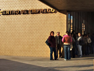 A taxa de desemprego atingiu os 12,4% em Portugal Foto: Arquivo JPN