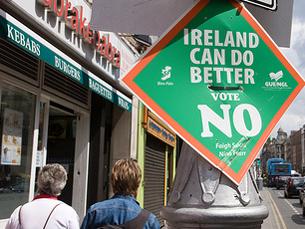 Não irlandês volta a colocar Bruxelas numa posição difícil Foto: William Murphy / Flickr