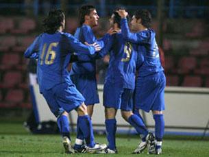A Itália quer somar a dobradinha após a conquista do Mundial 2006 Foto: FIGC