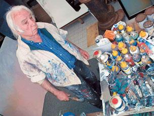Jaime Isidoro era conhecido pelas suas aguarelas Foto: DR