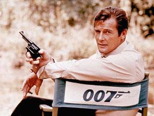 Roger Moore foi um dos atores que interpretou 007, mas Bond continua a viver para além dos filmes Foto: DR