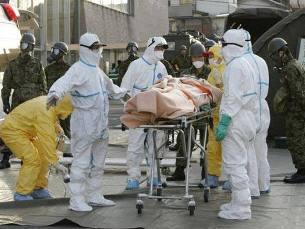 Japão continua sob perigo de contaminação radioactiva Foto: DR