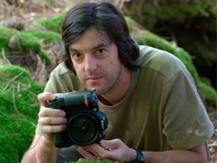 João Cosme é um apaixonado pela natureza e pela atividade que exerce Foto: DR