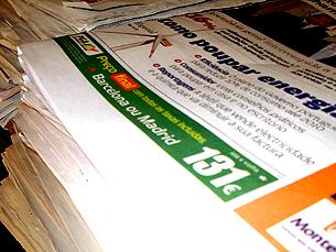 Os jornalistas não acreditam no aumento de venda dos jornais Foto: Paula Alves Silva/Arquivo JPN
