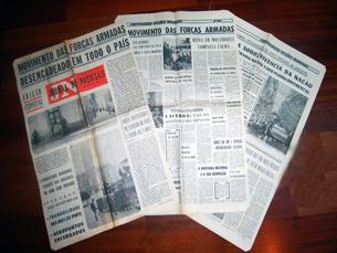 """O """"Jornal de Notícias"""" fez várias edições do dia Foto: Salomé Fonseca"""