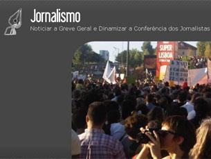 """Equipa do """"Jornalismo"""" é composta pelos jornalistas que quiserem colaborar Foto: DR"""
