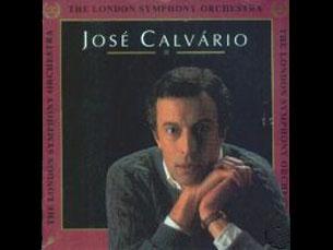 """Capa do álbum """"London Symphony Orchestra"""" de José Calvário Imagem: DR"""