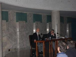 José Pinto da Costa em debate sobre criminologia Foto: Rita Duarte