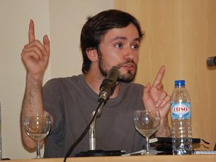 O debate, promovido pela FCUP, contou com a presença de José Soeiro Foto: Diana Ferreira