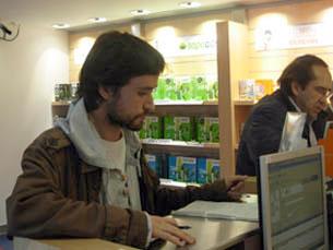 José Soeiro fez queixa no livro de reclamações da PT Foto: Sandra Silva