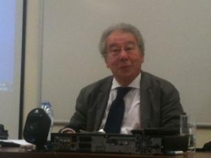 José Carlos Abrantes esteve presente numa palestra no curso de Ciências da Comunicação da UP Foto: Francisca Paiva