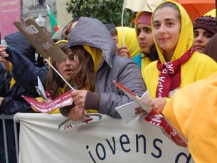 A manifestação vai mobilizar Lisboa e Porto Foto: Arquivo JPN