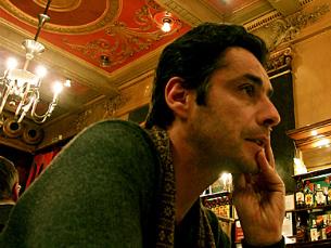 """JP Simões é o primeiro """"visitante do Bodyspace Au Lait Foto: Estelle Valente/Bodyspace.net"""