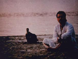 João Pedro Galhano Alves, em 1992, quando visitou a Índia pela segunda vez Foto: DR