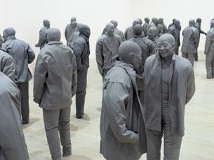 """Muñoz """"reinventou a relação entre a escultura e a figura humana"""" Foto: Serralves"""