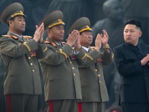 Na Coreia do Norte, comemora