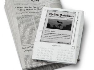 Kindle utiliza tecnologia com aparência e facilidade de leitura do papel Fotos: DR