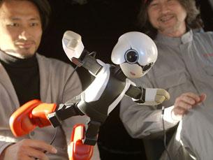 Kirobi teve de passar por vários testes, similares aos dos astronautas, antes de partir para o espaço Foto: Kibo Robot Project