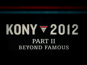 Kony 2012 - Part II - Beyond Famous mostra os progressos feitos desde o lançamento do primeiro vídeo Foto: DR