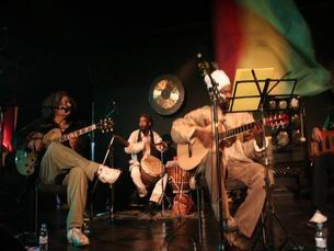 Os Kussondulola fazem parte do cartaz do Baixa Festival, que acontece a 13 de abril Foto: DR