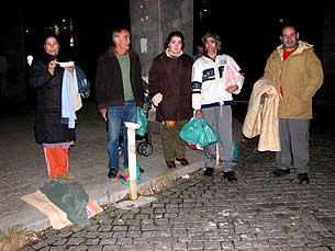 Maioria dos pobres do Porto são idosos de baixa escolaridade Foto: Eduarda Pires/Arquivo JPN