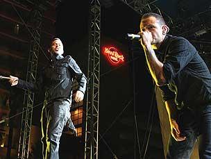Linkin Park vão actuar no último dia do Rock in Rio Foto:  Flickr