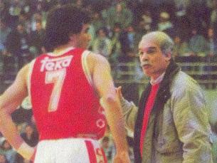 Mário Palma com Carlos Lisboa. Hoje, Lisboa é treinador dos encarnados e Palma selecionador nacional Foto: DR