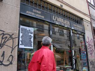 A livraria Tim Tim por Tim Tim recebe obras de Fabrízio Matos Foto: Mariana Catarino